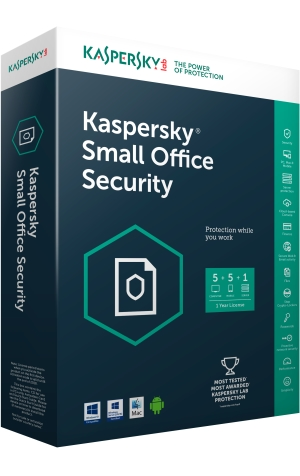 Kaspersky Small Office Security (5PCs + 5 Mobiles + 1 File Server)