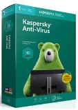 Kaspersky Anti-Virus 2019 (1Devices/1Year)